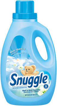 Snuggle® Blue Sparkle Liquid Fabric Softener 60 fl. oz. Plastic Jug