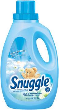 Snuggle® Blue Sparkle Liquid Fabric Softener 60 fl. oz. Plastic Jug
