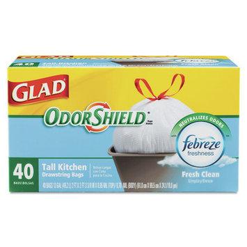 Glad ForceFlex OdorShield Bag - 25 Bags per Box / 4 Boxes