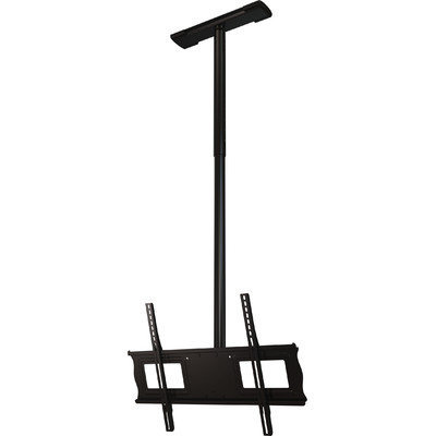 Crimson Av Crimson C63-60A Complete Ceiling Installation Kit With 3 Ft. to 5 Ft. Drop Adjustment For 37 In. Flat Panel Screens