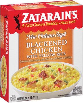 Zatarain's® Blackened Chicken with Yellow Rice 10.5 oz. Box