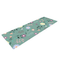 Kess Inhouse Flora by Louise Flowers Yoga Mat