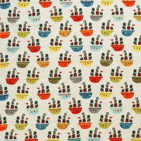 Stwd Pirate Ships Fitted Bassinet Sheet Color: Green