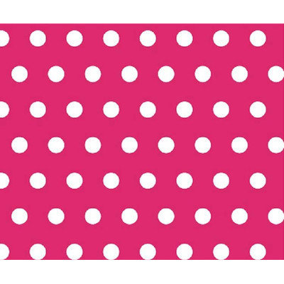 Stwd Polka Dots Crib/Toddler Fitted Sheet Color: Hot Pink