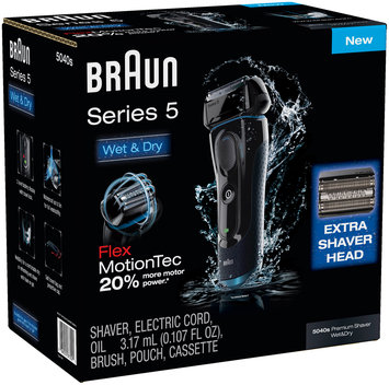 5Series Braun Series 5 5040s Electric Shaver + 52b replacement head