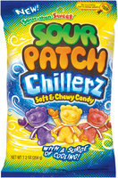 Sour Patch Bags Soft & Chewy Sour Then Sweet Chillerz Candy