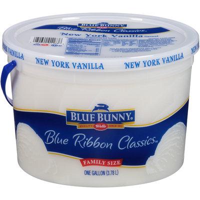 Blue Bunny® Blue Ribbon Classics™ New York Vanilla Flavored Reduced Fat Ice Cream 1 gal. Tub