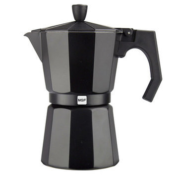 Magefesa Kenia Aluminum 3 Cups Coffee Maker Finish: Aluminum black
