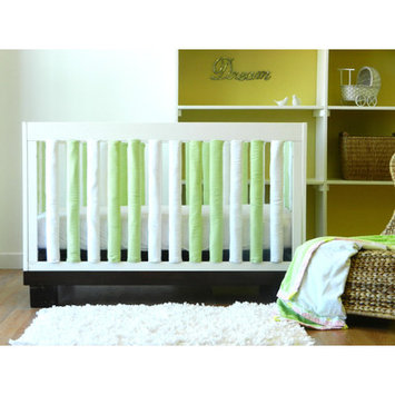Go Mama Go Designs Wonder Bumpers Green & White - 2 Pack