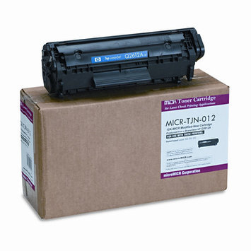 Micromicr Black Toner Cartridge - Black - Laser - 2000 Page