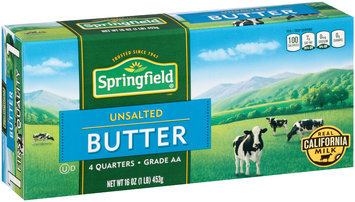 Springfield® Unsalted Butter 16 oz. Box
