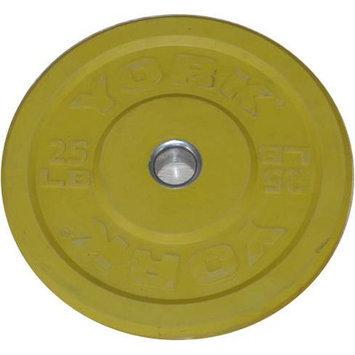 York Barbell Training Bumper Plate Weight: 25 lbs
