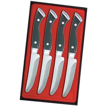 Utica Cutlery Company Boston Chop 4 Piece Steak Knife Set