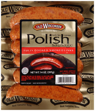 Old Wisconsin® Natural Casing Polish Sausage 6 ct Pack