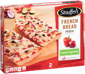 Stouffer's Grilled Vegetable French Bread Pizza