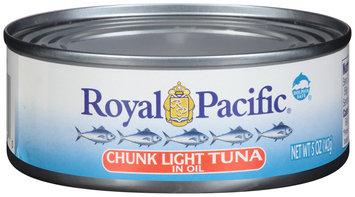 Royal Pacific® Chunk Light Tuna in Oil 5 oz. Can