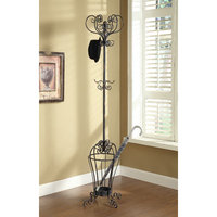Wildon Home Coat Rack Finish: Black