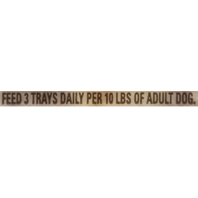 Cesar® Home Delights™ Canine Cuisine Beef Stroganoff in Sauce 3.5 oz. Tray