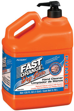 Fast Orange® Hand Cleaner Dry Skin Citrus Lotion Pumice  128 oz.