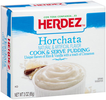 Herdez™ Horchata Cook & Serve Pudding 3 oz. Box