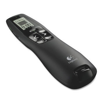 Logitech R400 Wireless Presenter Remote Control, Black