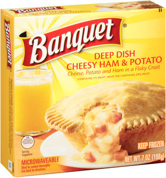 Banquet® Deep Dish Cheesy Ham & Potato 7 oz. Box