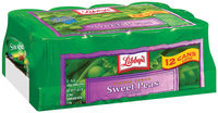 Libby's® Tender Young 15 Oz Peas Sweet  12 Pk Cans