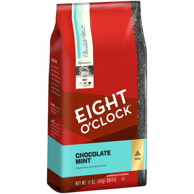 Eight O'Clock® Chocolate Mint Ground Coffee 11 oz. Bag