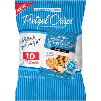 Pretzel Crisps® Original Deli Style Pretzel Crackers