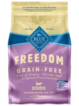THE BLUE BUFFALO CO. BLUE™ Freedom® Grain-Free Indoor Chicken Recipe For Adult Cats