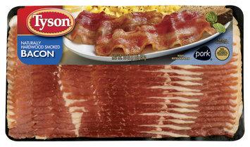 Tyson Hardwood Smoked Bacon 16 Oz Package