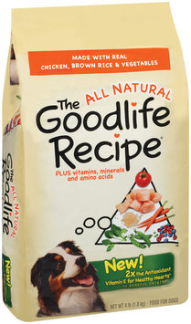 Archived The Goodlife Recipe Archived W/Chicken Brown Rice & Vegetables Dry Dog Food 4 Lb Bag
