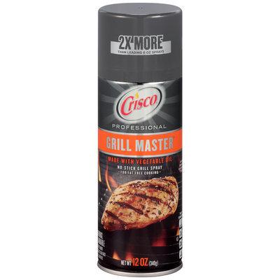 Crisco® Grill Master™ Professional No-Stick Grill Spray 12 oz. Aerosol Can