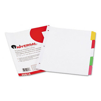 Universal Office Products Index Tabs and Dividers Universal Write-On
