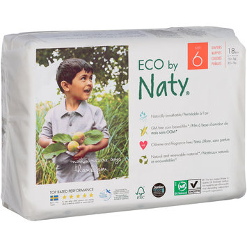 Eco by Naty® Size 6 Pants 18 ct Pack