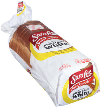 Sara Lee® Soft & Smooth® Made with Whole Grain White Bread 20 oz. Loaf