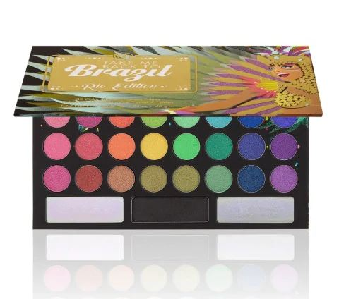 BH Cosmetics® Take Me Back To Brazil: Rio Edition 35 Color Shadow Palette