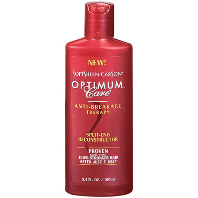 Optimum Care Split End Reconstructor Anti Breakage Therapy 3.4 Oz Plastic Bottle