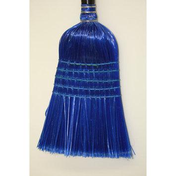 Syr Plastic Broom Head Color: Blue