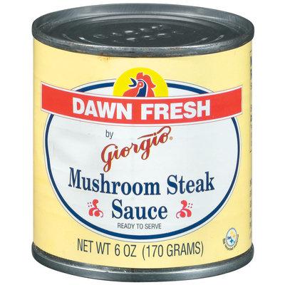 Dawn Fresh By Giorgio  Mushroom Steak Sauce 6 Oz Can