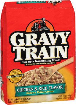 Gravy Train Chicken & Rice Flavor Dry Dog Food, 16-Pound