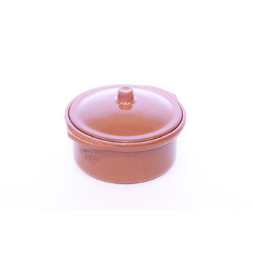 Regas Ceramics Regás Lidded Terracotta Tapas Casserole Dish 14cm (Single)