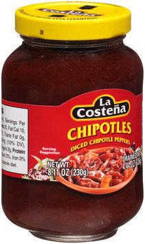 La Costena® Diced Chipotle Peppers 8.11 oz. Jar