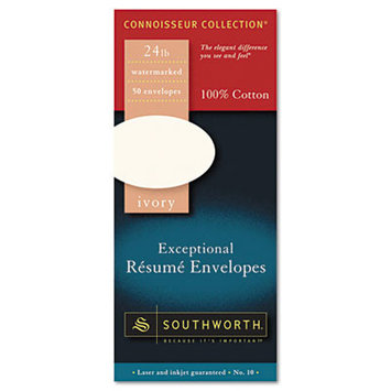 SOUTHWORTH CO. Exceptional Resume Envelope, Traditional