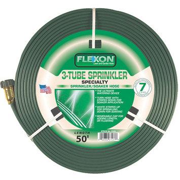 Flexon 50' 3 Tube Sprinkler Hose