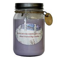 Covehousecandleco Lilac Jar Candle