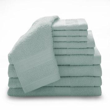 Luxury Home 12 Piece Super Plush Egyptian Cotton Towel Set, Teal