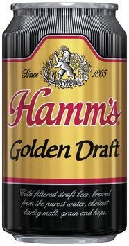 Hamm's Golden Draft  Beer 12 Oz Can