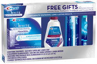 Crest 3D White 2-Hour Express Whitestrips Holiday Pack