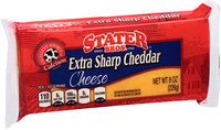 Stater Bros.® Extra Sharp Cheddar Cheese 8 oz. Brick